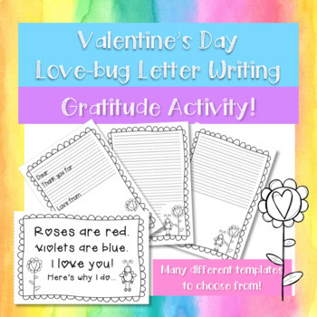 Gratitude Letter/Card Writing Activity