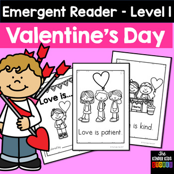 All About Love Emergent Reader