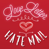Valentine's Day Love/Hate Punctuation Letter
