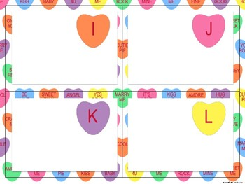 Valentine's Day Love Letter Cards