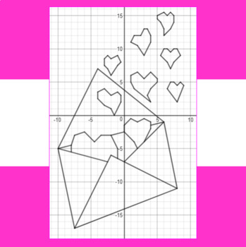 Valentine's Day - Love Letter - A Math-Then-Graph Activity - Solve 30 Systems