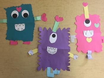 Love Monsters Craftivity