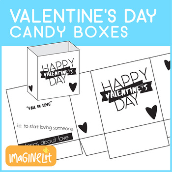 Valentine's Day Love-Themed Idiom Candy Boxes