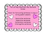 Valentine's Day Luv Bug Sentence Builder (Declarative, Exc