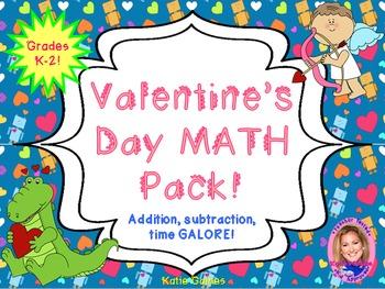 Valentine's Day MATH pack!