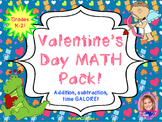 Valentine's Day MATH pack!