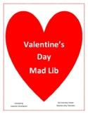 Valentine's Day Mad Lib