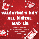 Valentine's Day Mad Lib Style (Digital and may be used wit