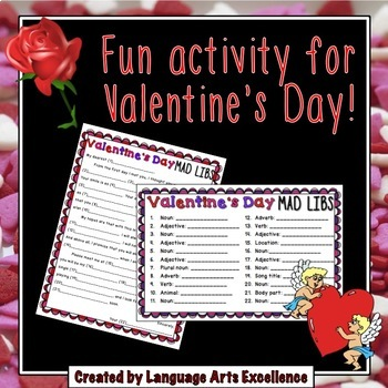 Valentine's Day Mad Libs