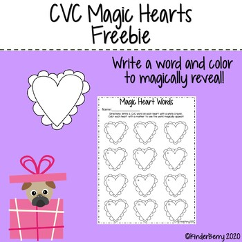 Valentine CVC Magic Words