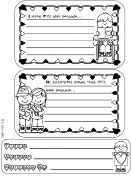 Valentine's Day Mailbox Book Report Project