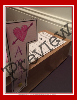 Valentine's Day Mailboxes! (Includes a Writing Prompt)