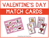 Valentine's Day Match Cards