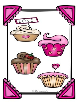 Valentine's Day Match-Up File Folder Game
