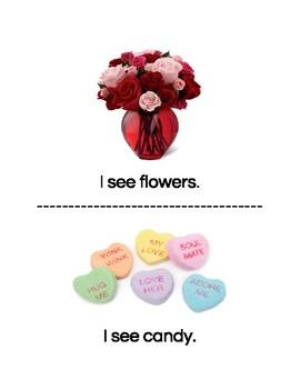 Valentine's Day Matching Book