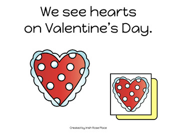 Valentine's Day Matching Book (Adapted Book)