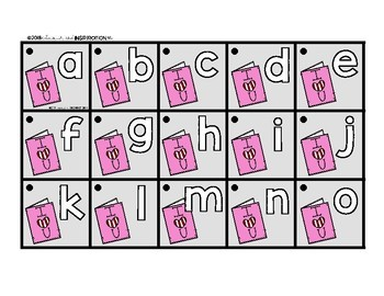 Valentine's Day Matching Cards for Letters and Sounds