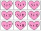 Multiplication Game | Valentine's Day themed