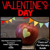 Valentine's Day Materials  COMPREHENSIVE SET OF LEARNING AND FUN COMBINED- CCSS