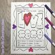 Color By Number St Valentine's Day Funky Valentines Addition Subtraction Bundle