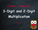 Valentine's Day Math: 3-Digit and 2-Digit Multiplication - I Have, Who Has