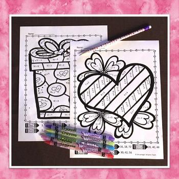 Valentine's Day Math Free