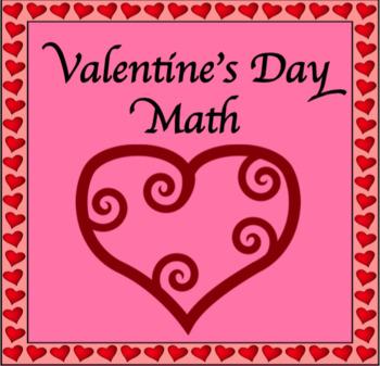 Valentine's Day Math Fun Tasks