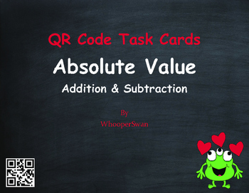 Valentine's Day Math: Absolute Value - Addition & Subtract