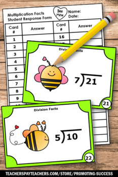 Valentine's Day Math Activities, Division Task Cards, 4th Grade Math Centers