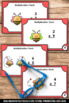 Multiplication Facts Game with Task Cards, Valentines Day Math Activities