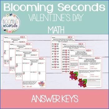Valentine's Day Math Activities