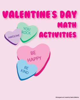 Valentine's Day Math Activities Package