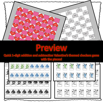 Valentine's Day Math Activities and Games!