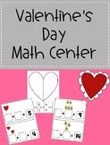 Valentine's Day Math Activity