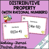 Valentine's Day Math Activity - Distributive Property (Cha