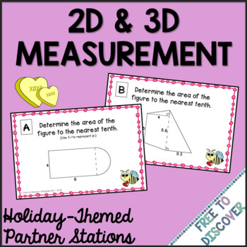 Valentine's Day Math Activity - Measurement