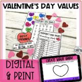Valentine's Day Math Activity: Conversation Heart Math