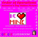 Valentine's Day Math Activity - Order of Operations with G