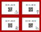 Valentine's Day Math: Adding Money QR Code Task Cards