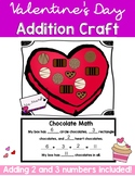Valentine's Day Math Addition Craft