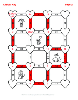 Valentine's Day Math: Average of 3 digits Maze