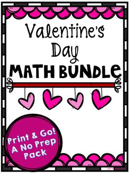 Valentine's Day Math Bundle