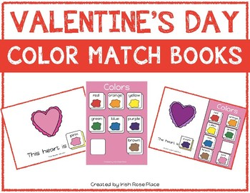Valentine's Day Math Bundle with Adapted Books