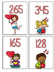 Valentine's Day Place Value Math Center Game FREE