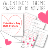 Valentine's Day Math Centers: Multiplying and Dividing Dec