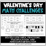 Valentine's Day Math Challenges