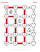 Valentine's Day Math: Converting Percents to Decimals Maze