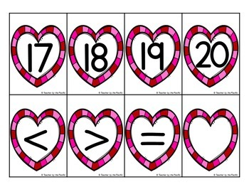 Valentine's Day Math: Count the Room 11 - 20