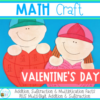 Valentine's Day Math Craft