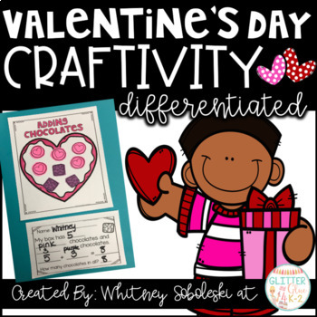 Valentine's Day Math Craft-Differentiated